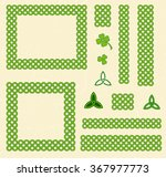 traditional green celtic style... | Shutterstock .eps vector #367977773
