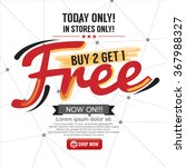 buy 2 get 1 free background...