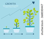 creative investment infographic ... | Shutterstock .eps vector #368030447