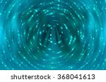 abstract background blue bokeh... | Shutterstock . vector #368041613