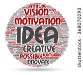 vector concept or conceptual... | Shutterstock .eps vector #368070293