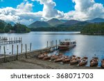 lake derwentwater of english...