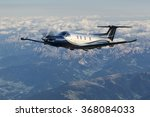 single engine turboprop... | Shutterstock . vector #368084033