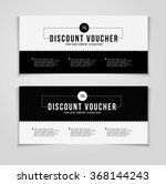 gift or discount voucher... | Shutterstock .eps vector #368144243
