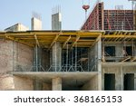 building under construction and ... | Shutterstock . vector #368165153