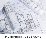 architectural blueprints | Shutterstock . vector #368173043