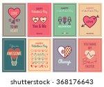 happy valentines day or wedding ... | Shutterstock .eps vector #368176643