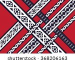 geometric ethnic pattern... | Shutterstock .eps vector #368206163