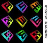 graphic elements set. vector...   Shutterstock .eps vector #36820768