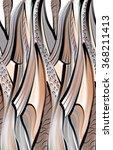 geometric ethnic pattern | Shutterstock . vector #368211413