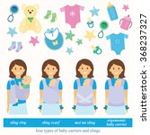 Four Types Of Baby Carriers An...