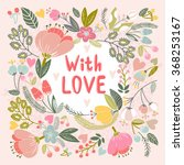 """beautiful greeting card """"with... 