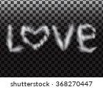 love smoke. abstract... | Shutterstock .eps vector #368270447