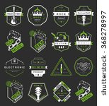 set of vector badges and logos... | Shutterstock .eps vector #368278997
