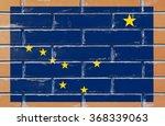 alaska state flag of america on ... | Shutterstock . vector #368339063