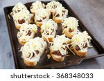 fresh french rolls loaded with... | Shutterstock . vector #368348033
