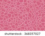 hand drawn hearts on pink... | Shutterstock .eps vector #368357027