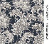 vintage floral seamless pattern | Shutterstock .eps vector #368359643