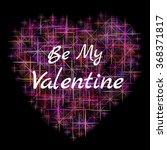 greeting valentine's card. | Shutterstock .eps vector #368371817