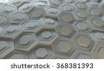 3d background platte made of... | Shutterstock . vector #368381393