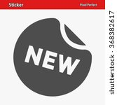 sticker icon. professional ... | Shutterstock .eps vector #368382617