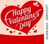 valentines day vintage... | Shutterstock . vector #368415197