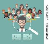vector concept of human... | Shutterstock .eps vector #368417093