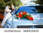 Luxury Wedding Car Decorated...