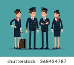 cool flat character design on... | Shutterstock .eps vector #368434787