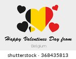 a valentines flag illustration... | Shutterstock . vector #368435813