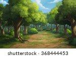 illustration of an outdoor in...   Shutterstock . vector #368444453