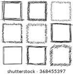 A Set Of Nine Square Doodle...