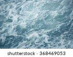 Waves In Rough Choppy Winter Sea
