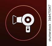 hair dryer icon | Shutterstock .eps vector #368475347