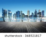 building business district city ... | Shutterstock . vector #368521817