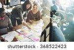 business people meeting... | Shutterstock . vector #368522423