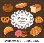 bakery and pastry design... | Shutterstock .eps vector #368536337