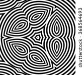 pattern with optical illusion.... | Shutterstock .eps vector #368564693
