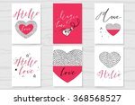 set of labels  posters ... | Shutterstock .eps vector #368568527