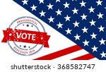 usa 2016 presidential election... | Shutterstock .eps vector #368582747