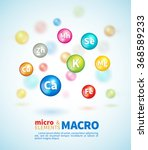 bright colored balls with the... | Shutterstock .eps vector #368589233