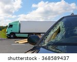 View Of Truck In An Accident...