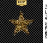 gold glitter vector icon of... | Shutterstock .eps vector #368594513