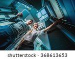 young engineers businessmen in... | Shutterstock . vector #368613653