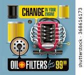 advertising banner illustrates... | Shutterstock . vector #368616173