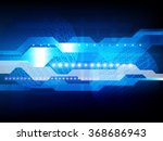 vector digital global... | Shutterstock .eps vector #368686943