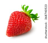 strawberry isolated on white... | Shutterstock . vector #368740523