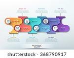 modern paper infographics... | Shutterstock .eps vector #368790917