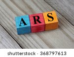 ars  argentine peso  sign on... | Shutterstock . vector #368797613