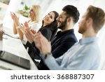 young people in the office | Shutterstock . vector #368887307